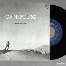 Discos de vinilo: SINGLE. GAINSBOURG. AUX ARMES ET COATERA. 1979. PHONOGRAM.. Lote 177126930
