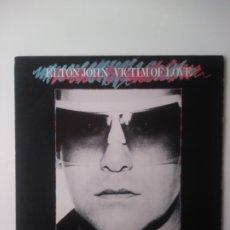 Discos de vinilo: ELTON JOHN : VICTIM OF LOVE. LP.1979. Lote 177129042