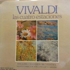 Discos de vinilo: VIVALDI. LAS CUATRO ESTACIONES. ENGLISH CHAMBER ORCHESTRA. JOSE LUIS GARCIA ASENSIO. Lote 177129752