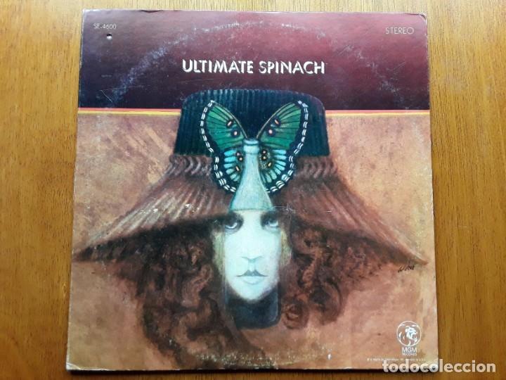 ULTIMATE SPINACH 1969 USA PSYCHEDELIC ROCK ORIGINAL LP (Música - Discos - LP Vinilo - Pop - Rock Extranjero de los 50 y 60)