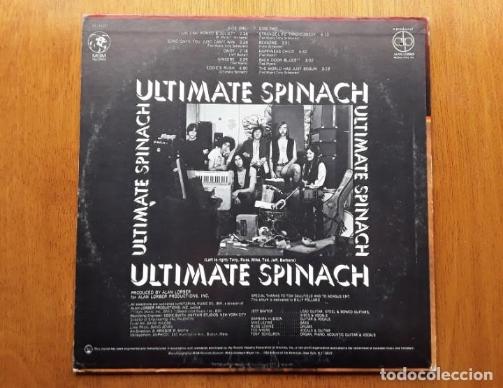 Discos de vinilo: ULTIMATE SPINACH 1969 USA PSYCHEDELIC ROCK ORIGINAL LP - Foto 2 - 177132047