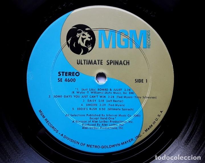 Discos de vinilo: ULTIMATE SPINACH 1969 USA PSYCHEDELIC ROCK ORIGINAL LP - Foto 3 - 177132047