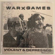 Discos de vinilo: SINGLE EP VINILO WARXGAMES ‎VIOLENT & DEPRESSED - STRAIGHT EDGE. Lote 177134237