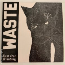Discos de vinilo: SINGLE EP VINILO WASTE LAST ONE STANDING - HARDCORE STRAIGHT EDGE. Lote 177134295