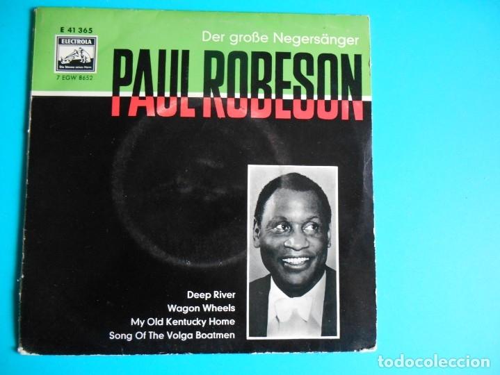 PAUL ROBESON LA VOZ DE SU AMO (Música - Discos de Vinilo - EPs - Jazz, Jazz-Rock, Blues y R&B)