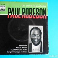 Discos de vinilo: PAUL ROBESON LA VOZ DE SU AMO. Lote 177135598