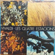 Discos de vinilo: VIVALDI. LES QUATRE ESTACIONS. DIRECTOR NEVILLE MARRINER.. Lote 177136202