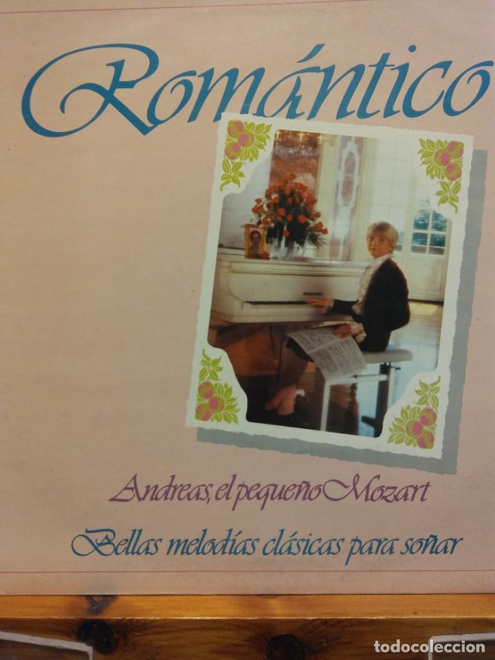 ROMÁNTICO. ANDREAS, EL PEQUEÑO MOZART. BELLAS MELODÍAS CLÁSICAS PARA SOÑAR. (Música - Discos - LP Vinilo - Clásica, Ópera, Zarzuela y Marchas)