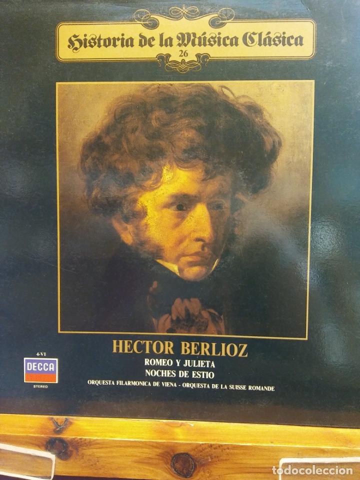 HISTORIA DE LA MÚSICA CLÁSICA Nº 26. HECTOR BERLIOZ. ORQUESTA FILARMÓNICA DE VIENA (Música - Discos - LP Vinilo - Clásica, Ópera, Zarzuela y Marchas)