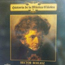 Discos de vinilo: HISTORIA DE LA MÚSICA CLÁSICA Nº 26. HECTOR BERLIOZ. ORQUESTA FILARMÓNICA DE VIENA. Lote 177137153