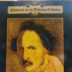 Discos de vinilo: HISTORIA DE LA MÚSICA CLÁSICA Nº 16. GAETANO DONIZETTI. . Lote 177137245