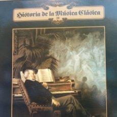 Discos de vinilo: HISTORIA DE LA MÚSICA CLÁSICA Nº 20. RICHARD WAGNER. ORQUESTA FILARMÓNICA DE VIENA. Lote 177137329