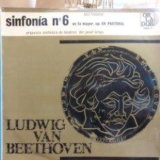 Discos de vinilo: LUDWIG VAN BEETHOVEN. SINFONÍA Nº 6. EN FA MAYOR, OP. 68 PASTORAL. Lote 177139603