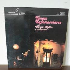 Discos de vinilo: LP - WERNER MULLER Y SU ORQUESTA - TANGOS ESPECTACULARES - EDICION ESPAÑOLA, DECCA 1973. Lote 177143110