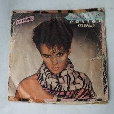 Disques de vinyle: SHEENA EASTON - TELEFONO (EN ESPAÑOL) / MORNING TRAIN. SINGLE. TDKDS17. Lote 177144344