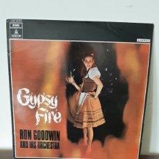 Discos de vinilo: LP - RON GOODWIN AND HIS ORCHESTRA - GYPSY FIRE - EMI , ODEON.. Lote 177176720