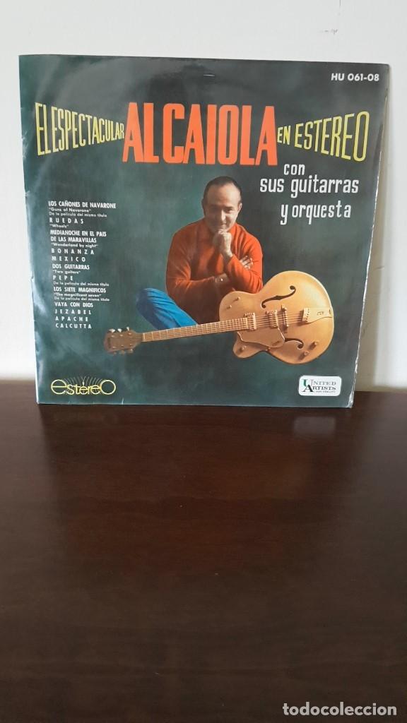 AL CAIOLA - EL ESPECTACULAR EN ESTEREO - LP MUY RARO DE VINILO EDICION ESPAÑOLA DE 1962 (Música - Discos - LP Vinilo - Orquestas)