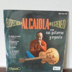 Discos de vinilo: AL CAIOLA - EL ESPECTACULAR EN ESTEREO - LP MUY RARO DE VINILO EDICION ESPAÑOLA DE 1962. Lote 177177004