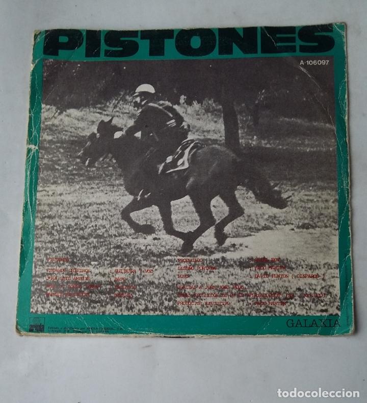 Discos de vinilo: PISTONES - Persecucion + Galaxia - SINGLE. tdkds17 - Foto 2 - 177178122