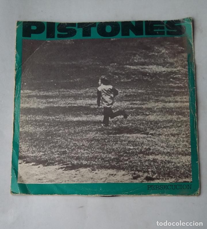 PISTONES - PERSECUCION + GALAXIA - SINGLE. TDKDS17 (Música - Discos - Singles Vinilo - Grupos Españoles de los 70 y 80)