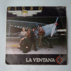Discos de vinilo: VIDEO.- LA VENTANA - SINGLE. TDKDS17. Lote 177179698