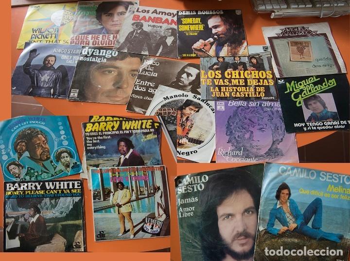 65 DISCOS SENCILLOS DE LOS 50-60 (Música - Discos de Vinilo - Maxi Singles - Solistas Españoles de los 50 y 60)