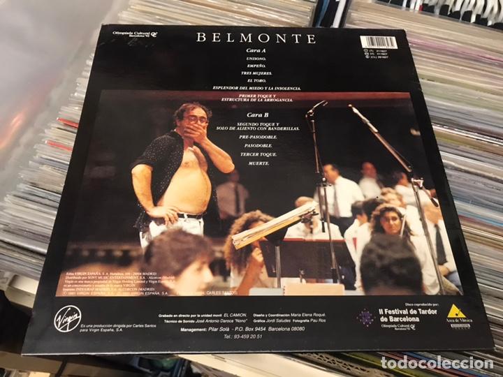 Discos de vinilo: Carles Santos Belmonte Banda sinfonica unio musical de lliria lp disco de vinilo Virgin - Foto 6 - 177185437