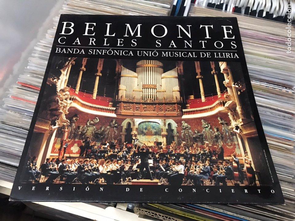 CARLES SANTOS BELMONTE BANDA SINFONICA UNIO MUSICAL DE LLIRIA LP DISCO DE VINILO VIRGIN (Música - Discos - LP Vinilo - Otros estilos)