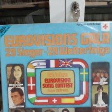 Discos de vinilo: EUROVISIÓN 29 SIGUE 1956 1981 2 LPS. Lote 177185837