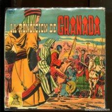 Discos de vinilo: LA RENDICIÓN DE GRANADA. DISCO CUENTO ODEON 1960.. Lote 177188588