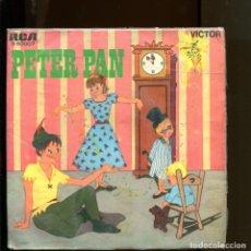 Discos de vinilo: PETER PAN VICTOR RCA 1967. EVANGELINA SALAZAR. Lote 177189027