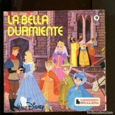 Discos de vinilo: WALT DISNEY. CUENTO DISCO BRUGUERA Nº9. LA BELLA DURMIENTE. 1968. Lote 177189715