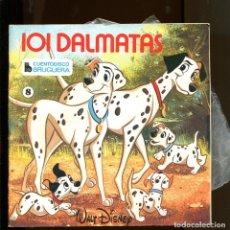Discos de vinilo: WALT DISNEY. CUENTO DISCO BRUGUERA Nº8. 101 DALMATAS. 1968. Lote 177189823