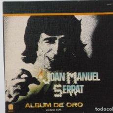 Discos de vinilo: CAJA DE 4 LPS DE JOAN MANUEL SERRAT-ALBUM DE ORO. Lote 177193283