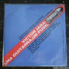 Discos de vinilo: VICTOR JARA: UNA GUITARRA, UN FUSIL - CASA DE LAS AMERICAS LA HABANA, CUBA, 1973. Lote 176900802