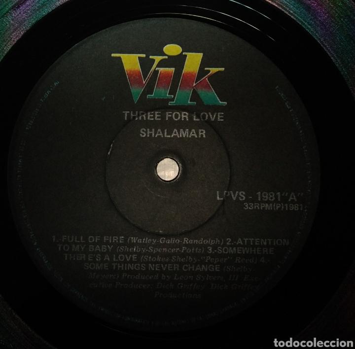 Discos de vinilo: Shalamar - Three for Love. Edición Venezuela - Foto 2 - 177206867