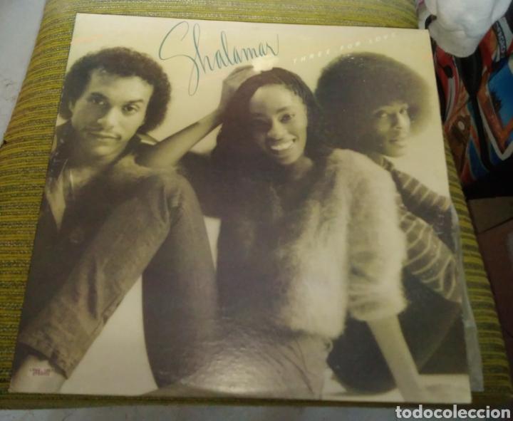 SHALAMAR - THREE FOR LOVE. EDICIÓN VENEZUELA (Música - Discos - LP Vinilo - Funk, Soul y Black Music)