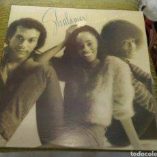 Discos de vinilo: SHALAMAR - THREE FOR LOVE. EDICIÓN VENEZUELA. Lote 177206867