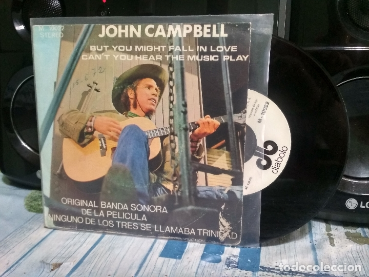 JOHN CAMPBELL BUT YOU MIGHT FALL IN LOVE SINGLE SPAIN 1972 PDELUXE (Música - Discos - Singles Vinilo - Bandas Sonoras y Actores)