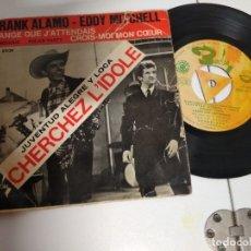 Discos de vinilo: F. ÁLAMO /EDDY MITCHELL BANDA ORIGINAL PELICULA MICHEL BOISROND JUVENTUD ALEGRE Y LOCA EP 1964 SPAIN. Lote 177208405