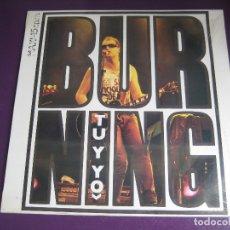 Discos de vinilo: BURNING MAXI SINGLE VICTORIA PRECINTADO 1985 - TU Y YO / ERES PARA MI - ROCK N ROLL CHELI. Lote 205738650