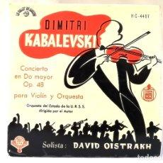Discos de vinilo: VINILO DIMITRI KABALEVSKI. Lote 177233787
