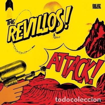 THE REVILLOS - ATTACK! - 2019 BEAT GENERATION RECORDS REISSUE (Música - Discos - LP Vinilo - Punk - Hard Core)