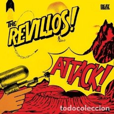 Discos de vinilo: THE REVILLOS - ATTACK! - 2019 BEAT GENERATION RECORDS REISSUE. Lote 177248154
