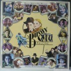Discos de vinilo: BUGSY MALONE//BANDA SONORA//1976//PORTADA DOBLE//MADE IN GERMANY//(VG+VG+). LP. Lote 177248168