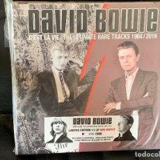Discos de vinilo: DAVID BOWIE - C'EST LA VIE THE ULTIMATE RARE TRACKS 1964/2016 - 11LP BOX, ED.LIMITADA. Lote 177248428