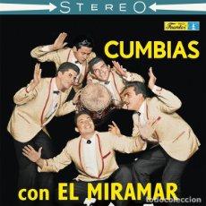 Discos de vinilo: CONJUNTO MIRAMAR - CUMBIAS CON EL MIRAMAR - 2019 VAMPI SOUL RECORDS REISSUE. Lote 177250139