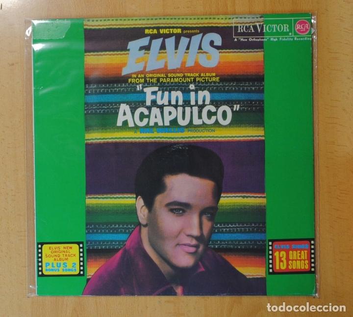 ELVIS PRESLEY - FUN IN ACAPULCO - BSO - LP (Música - Discos - LP Vinilo - Bandas Sonoras y Música de Actores )