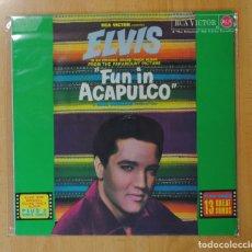 Discos de vinilo: ELVIS PRESLEY - FUN IN ACAPULCO - BSO - LP. Lote 177254159