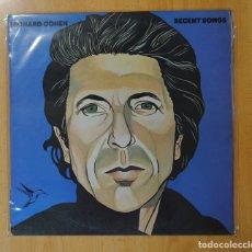 Discos de vinilo: LEONARD COHEN - RECENT SONGS - LP. Lote 177254669